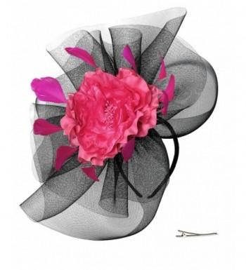 Zivyes Wedding Fascinator Feather Headband
