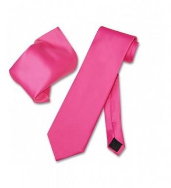 Vesuvio Napoli FUCHSIA NeckTie Handkerchief