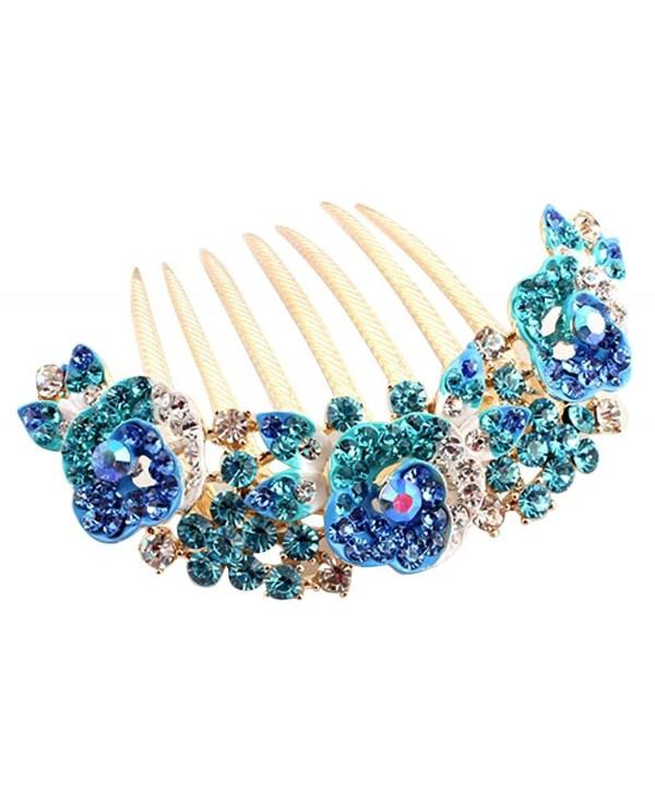 Fascigirl Bridal Accessories Crystal Flower