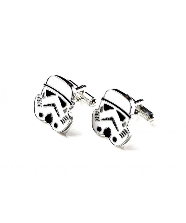 Quality Handcrafts Guaranteed Stormtrooper Cufflinks