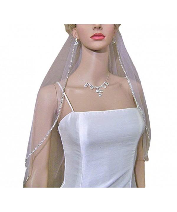 AIBIYI Rhinestone Bridal Wedding A7