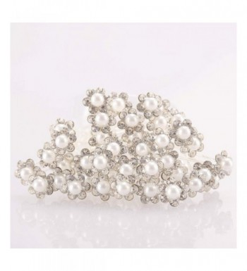 Coobbar Wedding Accessories Simulated Crystal