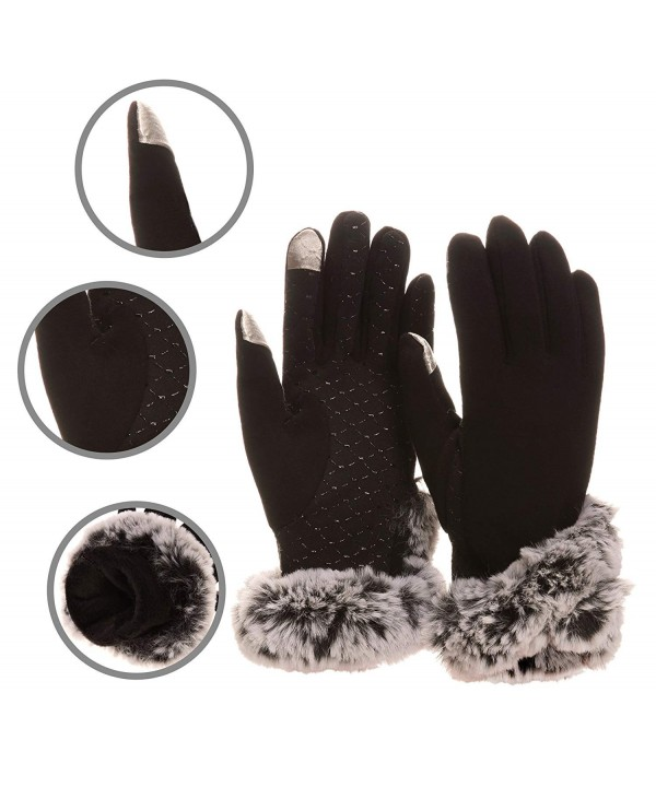 WENER Womens Leather Screen Winter