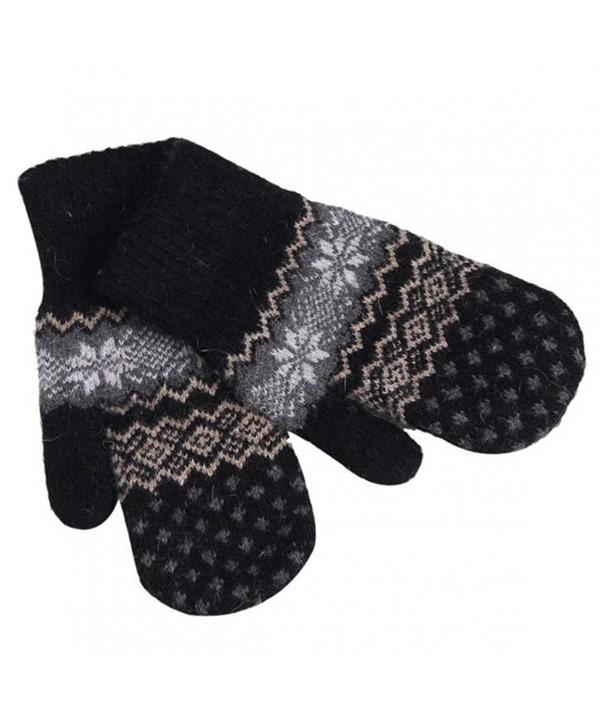 HN Snowflake Winter Mittens Gloves