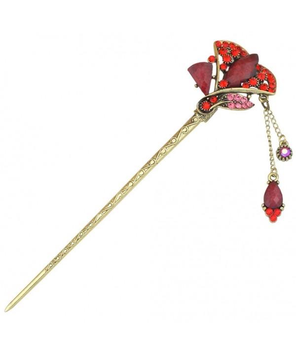 YOY Fashion Traditional Accessory Fan shaped