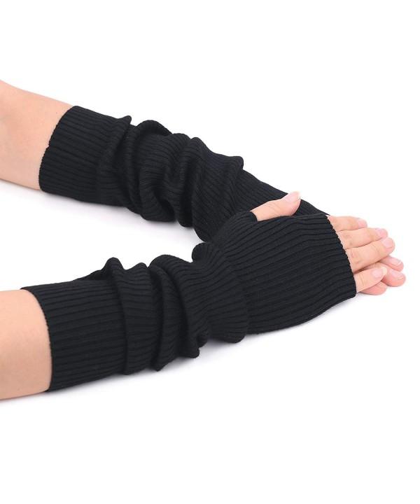 Women Fingerless Gloves Warmers Finger