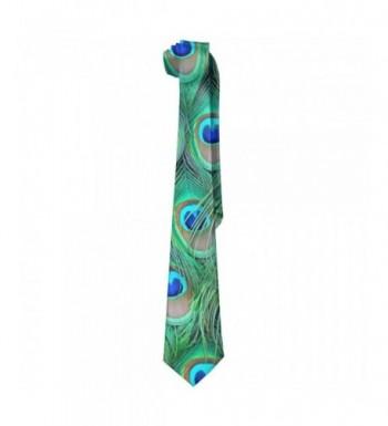 Adorable Peacock Necktie Elegant Neckties