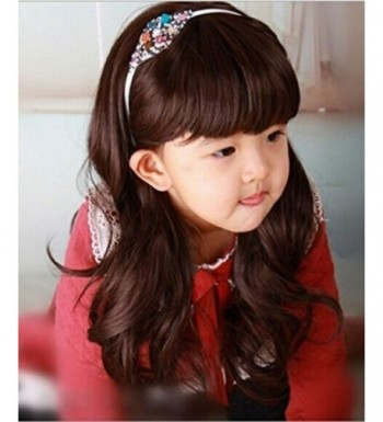 RoyalStyle Child Curly Cosplay Brown