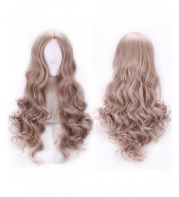 VELVEL Curly Cosplay Women Synthetic