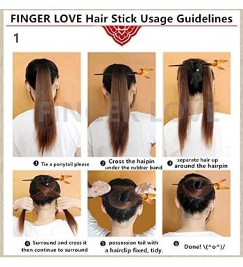 Cheap Designer Hair Styling Pins