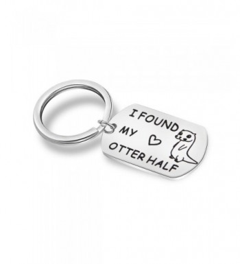 MAOFAED Keychain Engagement Boyfriend Girlfriend