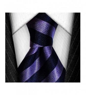 Gorgious Fold Silk Necktie Striped