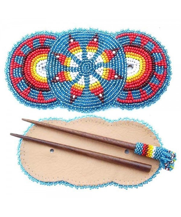 Handmade Barrette Stick Rosettes Accessories
