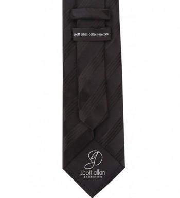 Striped Ties Men Woven Necktie