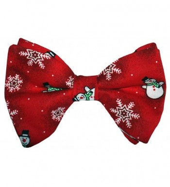 Snowman Pre tied Holiday Design Adult