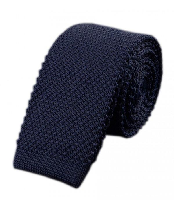 Knitting Border Pattern Business Necktie