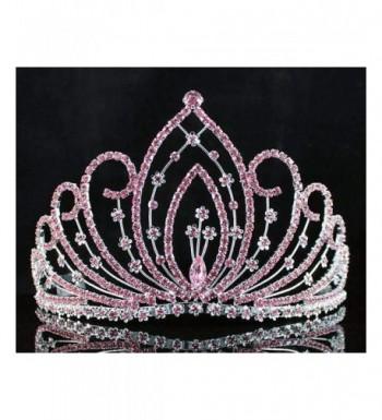 Janefashions Blossom Pageant Rhinestone Crystal