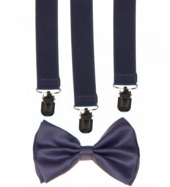 Classic Unisex Bow Tie Suspender