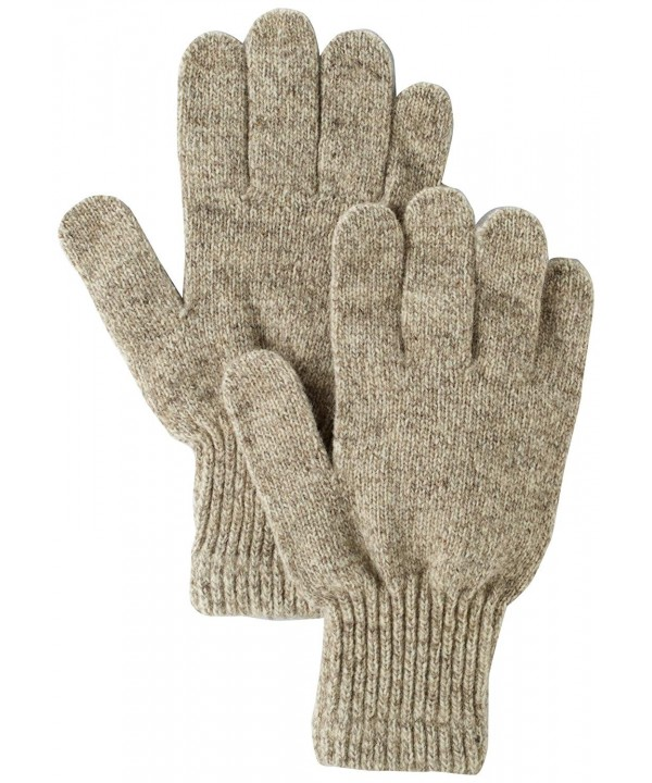 River Weight Glove Brown Tweed