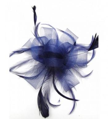 Looped Feathers Bridal Slide Fascinator