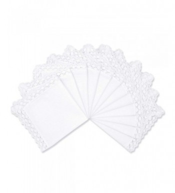 Milesky Wedding Cotton Handkerchiefs Square