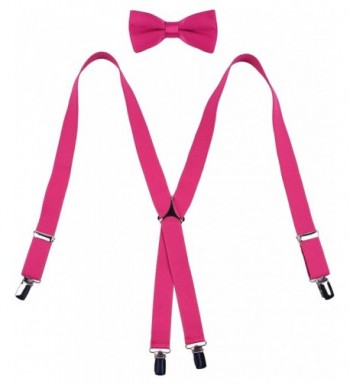 WDSKY Adjustable Suspenders Elastic Inches