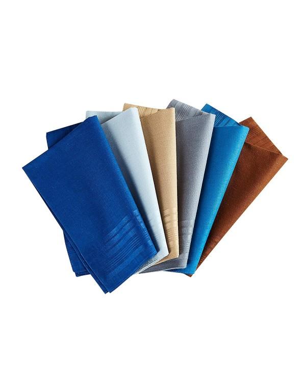 Handkerchiefs 100 Cotton Assorted Color 6colors 1
