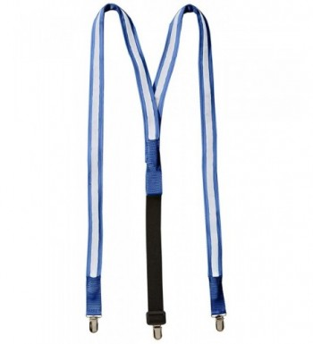 Light Up LED Suspenders Blue