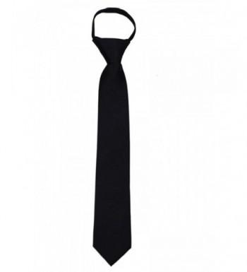 ZIP ADF 19 Solid Color Zipper Necktie