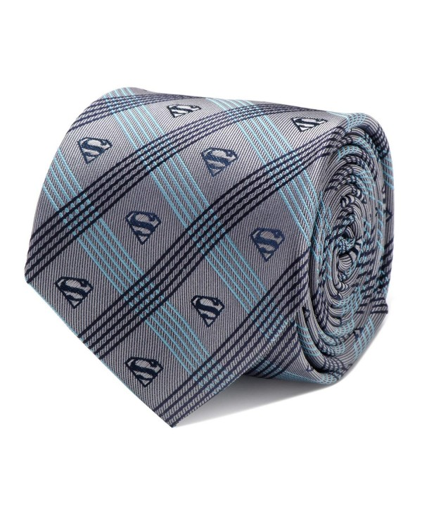 Comics Superman Plaid Officially Licensed