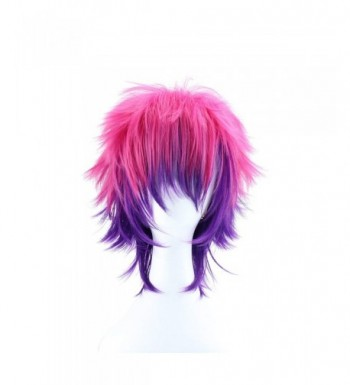 ColorGround Straight Purple Synthetic Cosplay