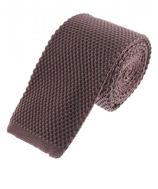 FLATSEVEN Basic Solid Square Necktie