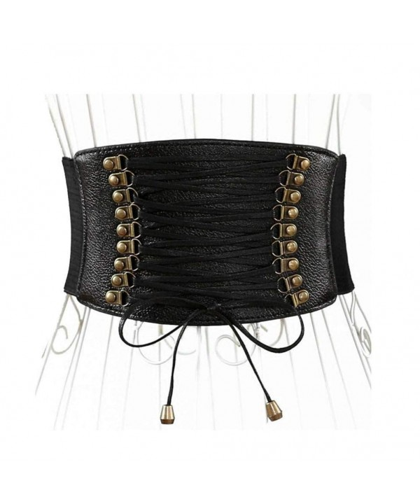 Womens Leather Cincher Corsets Training