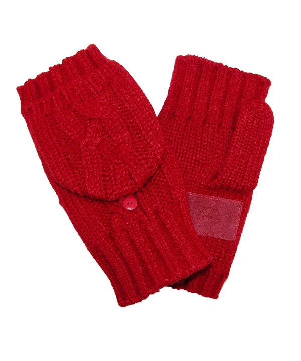 Isotoner Womens Chunky Convertible Gloves