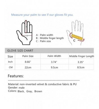 Latest Men's Gloves Outlet Online
