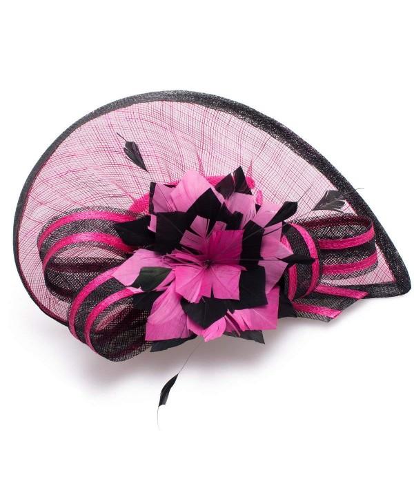 Lawliet Sinamay Fascinator Cocktail Headband