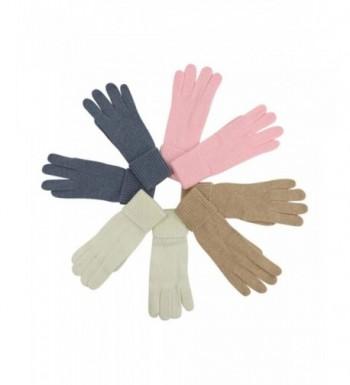 4 Pack Winter Angora Womens Gloves