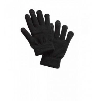 Sport Tek Mens Spectator Gloves Black
