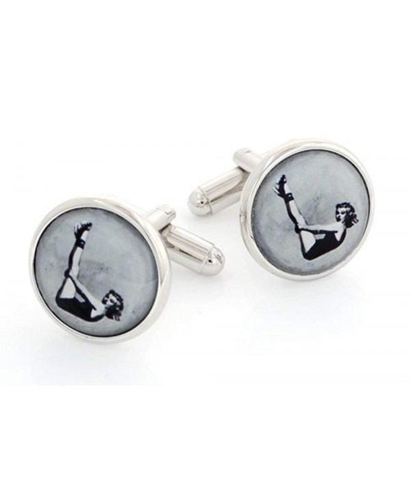 JJ Weston 1950s Pin Up Cufflinks