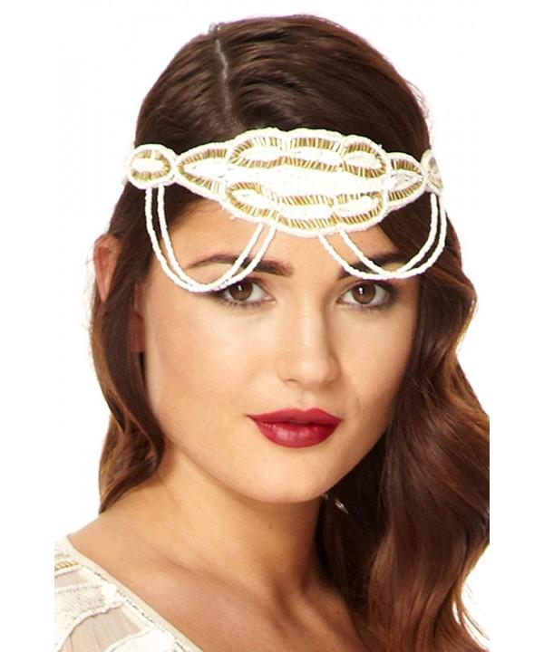 Ritz Vintage Inspired Headband White