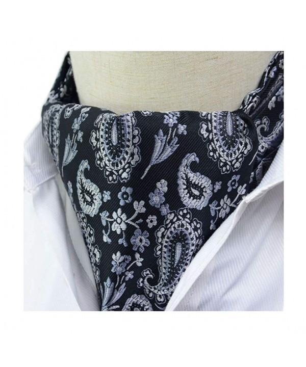 Secdtie Floral Luxury Jacquard Cravat