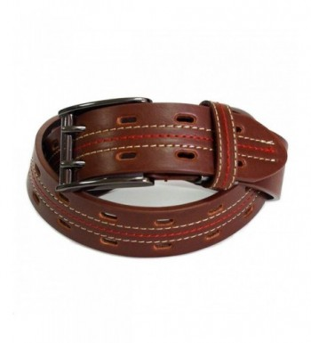 Belton Mens casual Double Brown
