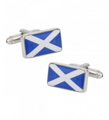 Cuff Daddy Scotland Flag Cufflinks Presentation