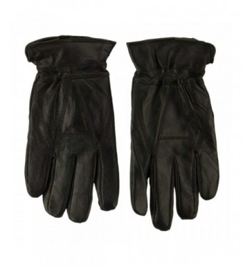 Sheepskin Leather Glove Black L XL