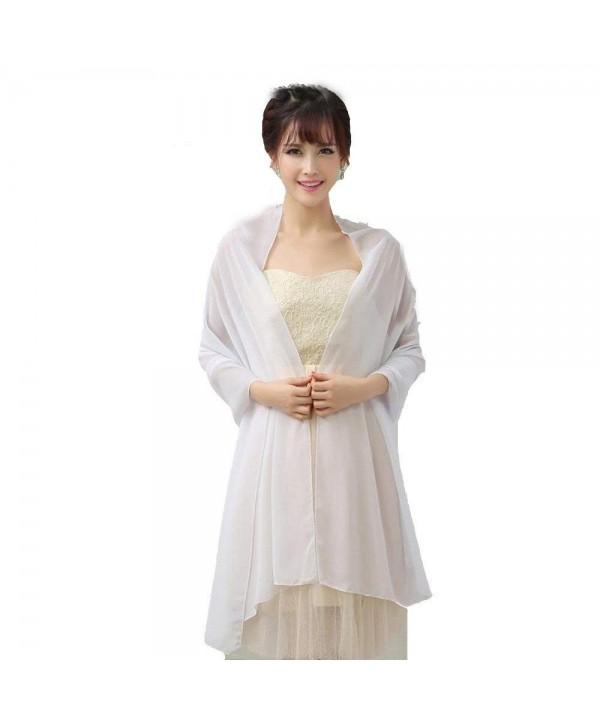 Womens Scarves Chiffon Bridal Evening