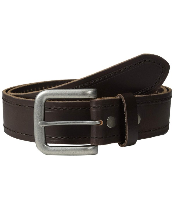 Bill Adler Stitched Creased Leather