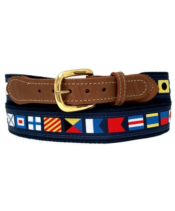 Nautical Belts Code Flags Waist