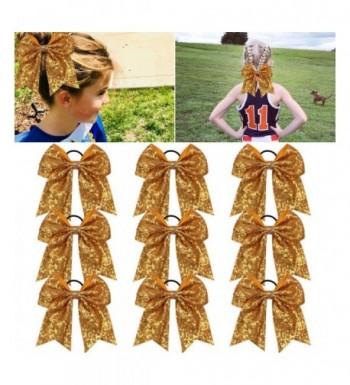 Glitter Ponytail Elastic Accessories Cheerleader