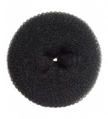 Diane Jumbo Hair Donut Black
