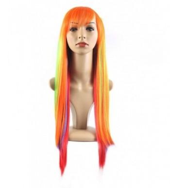 Xiaoyu Harajuku Rainbow Straight Cosplay